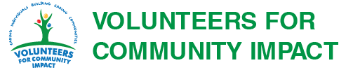 Volunteers for Community Impact Logo